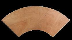 TABLE MODULABLE QUART DE LUNE