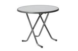 TABLE GUÉRIDON RONDE PLIANTE Ø80 CM