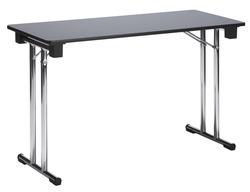 TABLE CONFÉRENCE 120X45CM GRISE