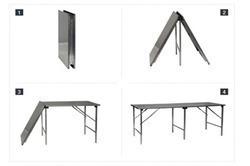 TABLE DE TRAVAIL INOX