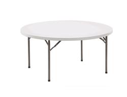 GRANDE TABLE RONDE PVC