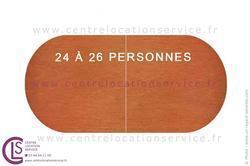 TABLE 580X120CM