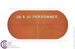 TABLE 650X120CM