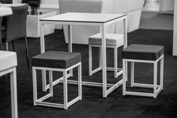TABLE DINNER KUBO 70 X 70 CM - HAUTEUR 75 CM