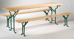 TABLE BOIS 220X80