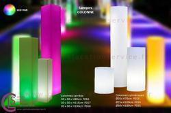 LAMPE COLONNE LED