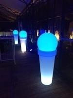 POT LED BLANC